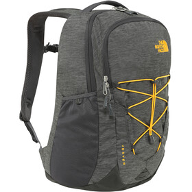 The North Face Jester Backpack asphalt grey dark heather/zinnia orange